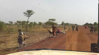 Refugees from Blue Nile State fleeing to South Sudan