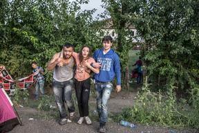 REFUGEES IN CENTRAL EUROPE