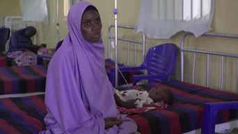 WEBCLIP: Hussaina's daughter is in an MSF ITFC in Maiduguri (INT)