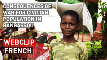 Consequences of war for civilian population in Bangassou | Webclip | French