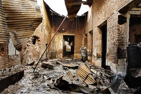 Kunduz - After the attack - 10 Oct 2015