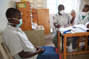 TB treatment at MSF clinic, In Homa Bay District Hospital