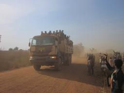 Chad, Dozens of thousands of people have fled violence CAR