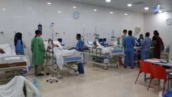 Yemen : surgical emergency hospital in northern Aden