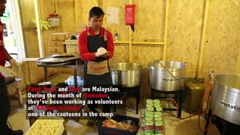 WEBCLIP: 'Kitchen in Calais', volunteering during Ramadan (ENG)