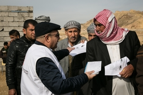 Irak - MSF mobile clinics in Kirkuk and Salahedin governorates