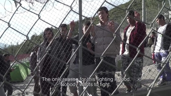 WEBCLIP: Ramin, young Afghan refugee held in detention centre on Samos, Greece (ENG)