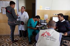 MSF projects in Gaza