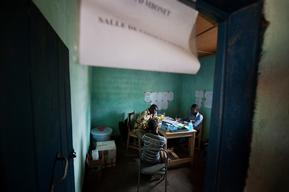 MSF outpatient department in Carnot