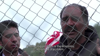 WEBCLIP: Mehboob, refugee from Pakistan held in a detention centre on Samos, Greece (ENG)