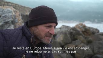 WEBCLIP. Stories from Samos. 44-year old Guhdar from Iraq (FR)