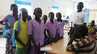 Bor hospital, Jonglei State - July 2014