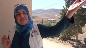 West Bank - Help to cope with the violence