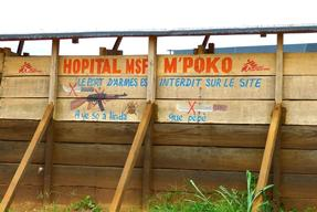 MSF Hospital in Mpoko Camp