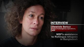 INTERVIEW: Gwenola Seroux. MSF's assistance to Rohingya refugees in Bangladesh  (ENG)
