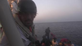 BROLL - Mediterranean: Big day of rescues 19 September 2015