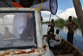 Cholera response on and around lake Chilwa