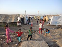 Irak - Domiz refugee camp