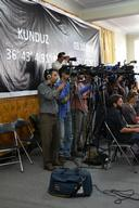 Press Conference in Kabul