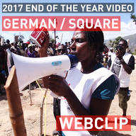 Thank you - End of the year 2017 | Web Clip | German Square