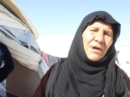 INT Mother looking for her sons - Akcakale Transit Camp for Syrian Refugees