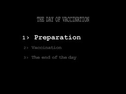 Organising an Emergency Mass Vaccination Campaign: 5 - The Day of Vaccination