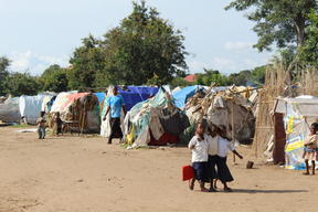 Living conditions have not improved in the IDP camps around Kalemie