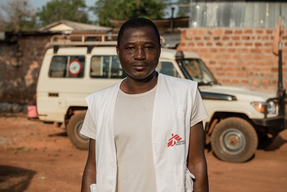 Portrait of MSF Staff in Bangassou