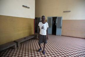 People living with HIV - TB co-infected Patient. Ignace Deen Hospital Conakry, Guinea