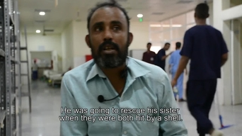 WEBCLIP: Mokthar, landmine victim in Yemen, tells his story (ENG)