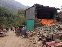Mobile clinic in Gorkha district