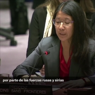 Web Clip - Joanne Liu UN Security Council address SPANISH