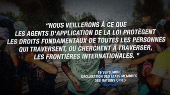 "WEBCLIP ""Uphold the human rights?"" - UN Summit on Refugees & Migrants (FRENCH)"