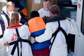 MSF Search and Rescue Operation IV