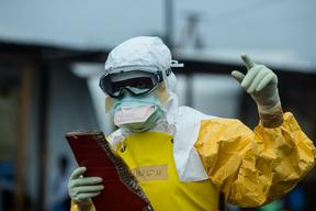 Ebola case management centre ELWA3 - Liberia