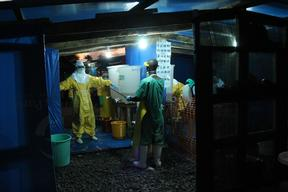 Ebola - MSF Photo/Video coverage Apr-Sept 2014