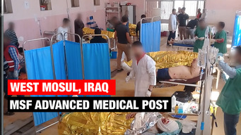 Web Clip - West Mosul, Iraq, MSF Advanced Medical Post - ENGLISH