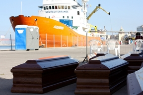 22 people lost their lives at sea and 209 rescued