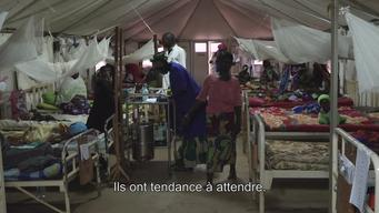 WEBCLIP : CAR, difficult access to care in Bria (FR)