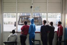 Pozzallo Migrant Reception Centre