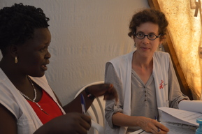 Interview, Marie-Anne Henry midwife activity manager