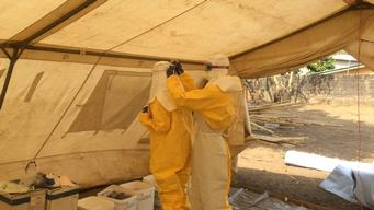 Ebola epidemic confirmed by the Guinean Ministry of Health on March 22