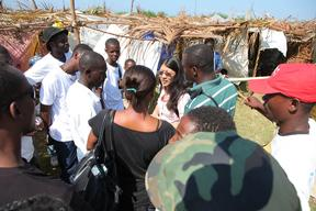 Camps in Leogane