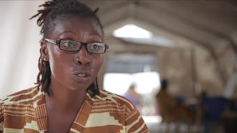 Bentu Sandy, from an Ebola survivor to mental health counsellor for MSF.