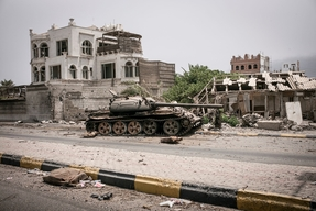 Devastation in Aden - July 2015