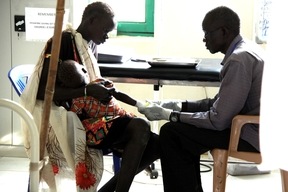Offering healthcare in South Sudan, unity state