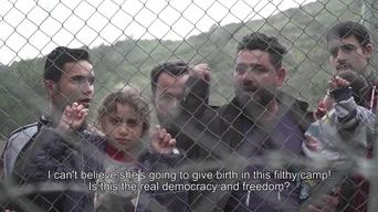 WEBCLIP: Walid, refugee from Iraq, held in detention centre on Samos, Greece (ENG)