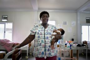 obstetric and neonatal emergency hospital in Delmas 33 area of Port au Prince