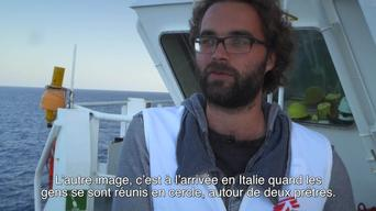 MSF staff testimony aboard the Argos after rescue at sea FR