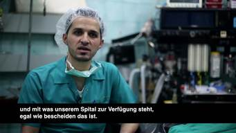 Dr Abu Huthaifa – Surgeon in Aleppo (Part Two) DE